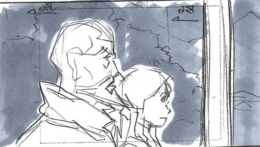 LeSean Thomas Storyboards from Legend of Korra