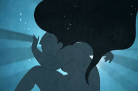 "Inspiration from Animated Inuit Folktale ""From Darkness"""